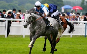 Horse Racing - Royal Ascot - Ascot Racecourse - 16/6/15  Solow ridden by Maxime Guyon wins the 14.30 Queen Anne Stakes   Reuters / Eddie Keogh  Livepic