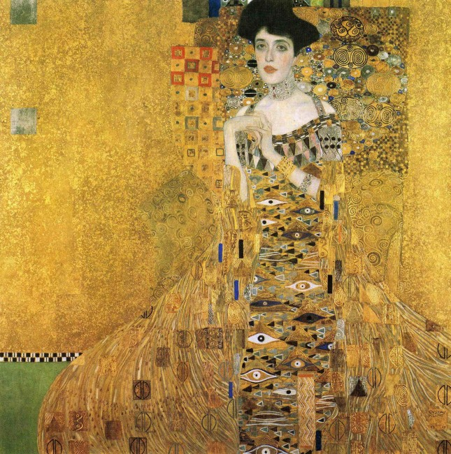 Adele Bloch Bauer, by Gustac Klimt Contact the Filmmakers on IMDbPro » Top 500 Woman in Gold (2015) PG-13  |  109 min  |  Drama  |  10 April 2015 (USA) 7.4 Your rating:   -/10   Ratings: 7.4/10 from 14,323 users   Metascore: 51/100  Reviews: 105 user | 162 critic | 31 from Metacritic.com Maria Altmann, an octogenarian Jewish refugee, takes on the Austrian government to recover artwork she believes rightfully belongs to her family. Director: Simon Curtis Writers: Alexi Kaye Campbell, E. Randol Schoenberg (life story), 1 more credit » Stars: Helen Mirren, Ryan Reynolds, Daniel Brühl | See full cast and crew »