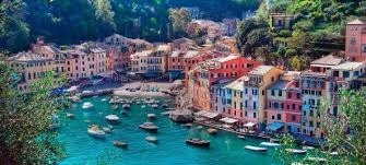 Portofino is an Italian fishing village and vacation resort famous for its picturesque harbour and historical association with celebrity and artistic visitors. It is a comune located in the province of Genoa on the Italian Riviera.