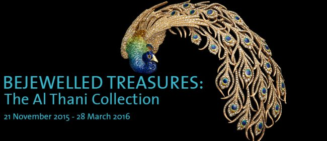 21 November 2015 – 28 March 2016. Spectacular objects, drawn from a single private collection, will explore the broad themes of tradition and modernity in Indian jewellery. Sponsored by Wartski  150 years