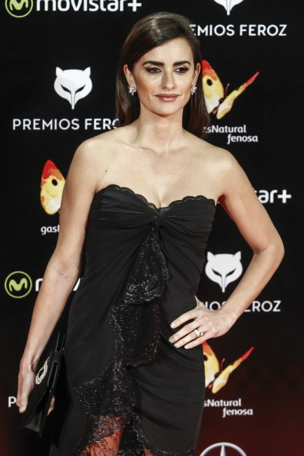 Spanish actress Penelope Cruz attends the Feroz Awards 2016 red carpet at the Gran Teatro Principe Pio on January 19, 2016 in Madrid, Spain. ...