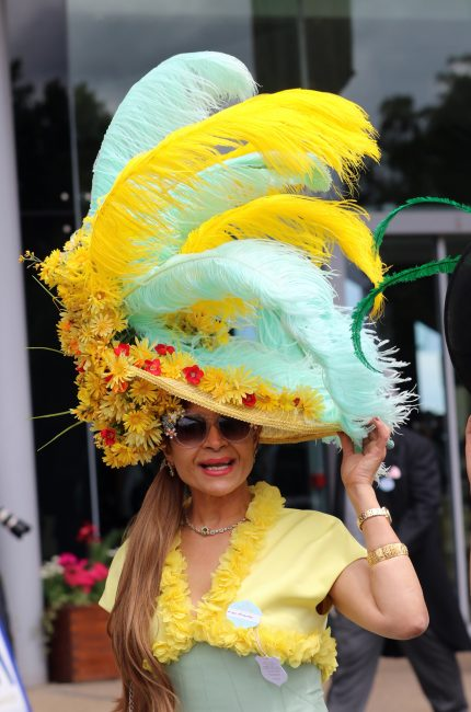 14 June2016;   Dr. Ines Hernandez at Royal Ascot.      © Peter Mooney, 6, Cumberland Street, Dun Laoghaire, Co. Dublin, Ireland.    Tel:  00 353 (0)86 2589298