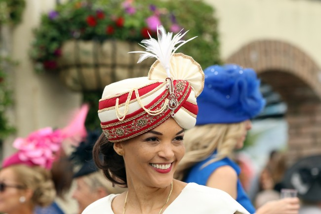 25 June 2016; Dubai Duty Free Irish Derby day at The Curragh. © Peter Mooney, 6, Cumberland Street, Dun Laoghaire, Co. Dublin, Ireland. Tel: 00 353 (0)86 2589298