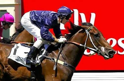 Fastnet winning at Melbourne ridden by Glenn Boss