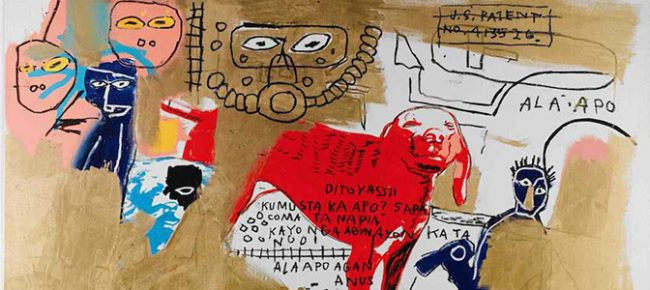 Milan's Art museum MUDEC displays Basquiat.