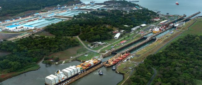 Image with thanks and courtesy Panama Canal