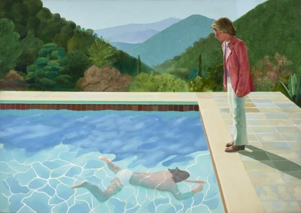 Image Courtesy & with thanks Tate Britain. David Hockney.