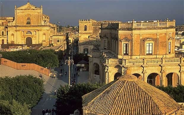 Sicily Noto UNESCO World Heritage site