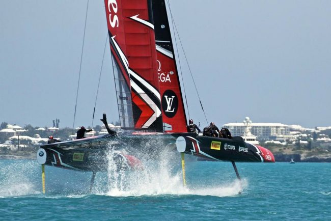America's Cup Day 4 2017